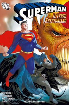 Copertina SUPERMAN IL TERZO KRIPTONIANO n. - SUPERMAN IL TERZO KRIPTON, PLANETA-DE AGOSTINI
