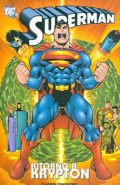 Copertina SUPERMAN RITORNO A KRYPTON n. - SUPERMAN RITORNO A KRYPTO, PLANETA-DE AGOSTINI