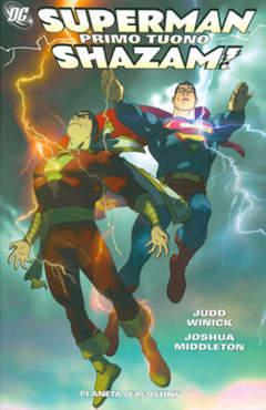 Copertina SUPERMAN SHAZAM PRIMO TUONO n. - SUPERMAN SHAZAM PRIMO TUO, PLANETA-DE AGOSTINI