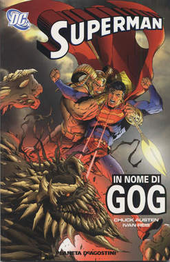 Copertina SUPERMAN TP n.1 - IN NOME DI GOG, PLANETA-DE AGOSTINI