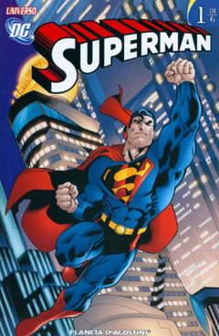 Copertina SUPERMAN UNIVERSO DC (m6) n.1 - UNIVERSO DC, PLANETA-DE AGOSTINI