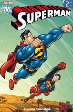 Copertina SUPERMAN UNIVERSO DC (m6) n.2 - UNIVERSO DC, PLANETA-DE AGOSTINI