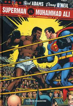 Copertina SUPERMAN VS MUHAMMAD ALI n. - SUPERMAN VS MUHAMMAD ALI, PLANETA-DE AGOSTINI