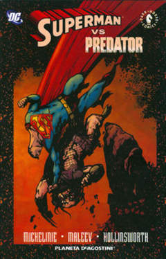 Copertina SUPERMAN VS. PREDATOR n. - SUPERMAN VS. PREDATOR, PLANETA-DE AGOSTINI