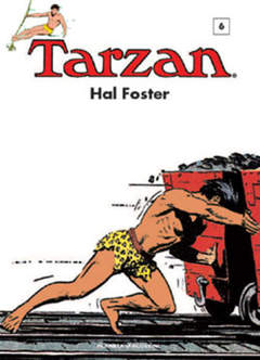 Copertina TARZAN n.6 - TARZAN 1936-37, PLANETA-DE AGOSTINI