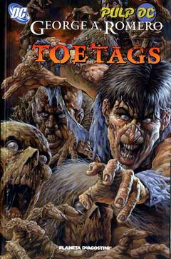 Copertina TOE TAGS (THE DEATH OF DEATH) n. - TOE TAGS (THE DEATH OF DEATH), PLANETA-DE AGOSTINI