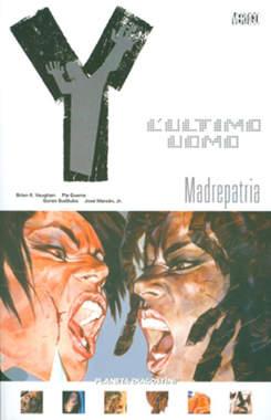 Copertina Y ULTIMO UOMO (m11) n.10 - MADREPATRIA, PLANETA-DE AGOSTINI