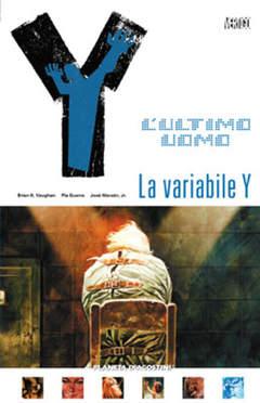 Copertina Y ULTIMO UOMO (m11) n.11 - LA VARIABILE Y, PLANETA-DE AGOSTINI