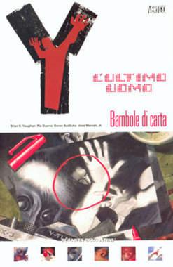 Copertina Y ULTIMO UOMO (m11) n.8 - BAMBOLE DI CARTA, PLANETA-DE AGOSTINI