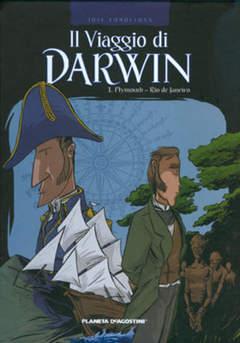 Copertina VIAGGIO DI DARWIN n.1 - PLYMOUTH - RIO DE JANEIRO, PLANETA-DE AGOSTINI