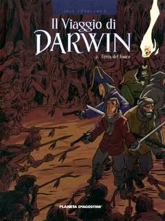 Copertina VIAGGIO DI DARWIN n.2 - TERRA DEL FUOCO, PLANETA-DE AGOSTINI