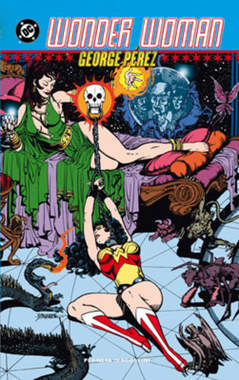 Copertina WONDER WOMAN DI GEORGE PEREZ n.2 - WONDER WOMAN, PLANETA-DE AGOSTINI