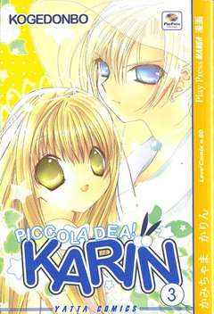 Copertina KARIN PICCOLA DEA n.3 - KAMICHAMA KARIN, PLAY PRESS PUBLISHING