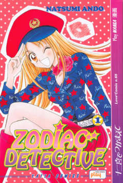 Copertina ZODIAC DETECTIVE n.1 - ZODIAC DETECTIVE 1, PLAY PRESS PUBLISHING