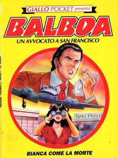 Copertina GIALLO POCKET n.2 - BIANCA COME LA MORTE, PLAY PRESS