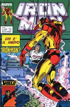 PLAY PRESS - IRON MAN
