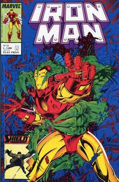 Copertina IRON MAN n.21 - IRON MAN                    21, PLAY PRESS