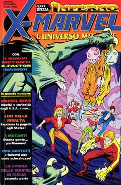 Copertina X-MARVEL n.39 - X-MARVEL                    39, PLAY PRESS