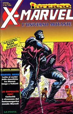 Copertina X-MARVEL n.40 - X-MARVEL                    40, PLAY PRESS