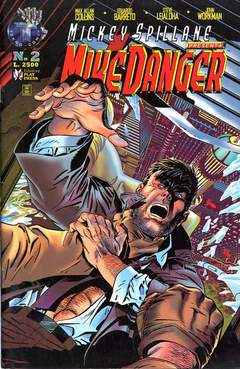 Copertina MIKE DANGER n.2 - MIKE DANGER                  2, PLAY PRESS