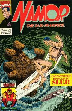 PLAY PRESS - NAMOR SUB-MARINER