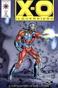 Copertina X-O IL GUERRIERO n.0 - X-O IL GUERRIERO             0, PLAY PRESS
