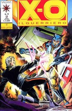 Copertina X-O IL GUERRIERO n.2 - X-O IL GUERRIERO             2, PLAY PRESS
