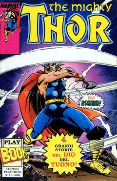 Copertina PLAY BOOK n.6 - THE MIGHTY THOR, PLAY PRESS