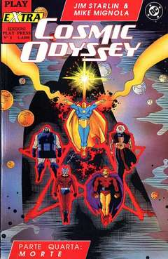 Copertina PLAY EXTRA n.5 - COSMIC ODYSSEY 4, PLAY PRESS