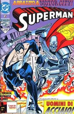 Copertina SUPERMAN n.11 - SUPERMAN                    11, PLAY PRESS