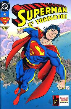 Copertina SUPERMAN n.12 - SUPERMAN                    12, PLAY PRESS