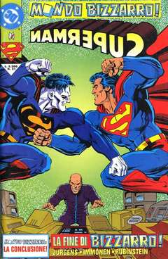Copertina SUPERMAN n.21 - SUPERMAN                    21, PLAY PRESS