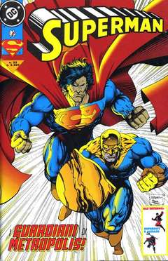 Copertina SUPERMAN n.22 - SUPERMAN                    22, PLAY PRESS