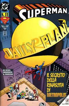 Copertina SUPERMAN n.51 - SUPERMAN                    51, PLAY PRESS