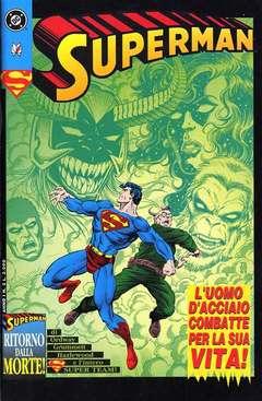 Copertina SUPERMAN n.5 - SUPERMAN                     5, PLAY PRESS