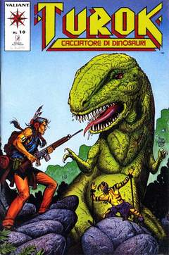 Copertina TUROK n.10 - TUROK                       10, PLAY PRESS