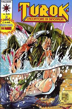 Copertina TUROK n.4 - TUROK 4/5, PLAY PRESS