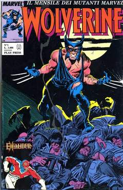 PLAY PRESS - WOLVERINE