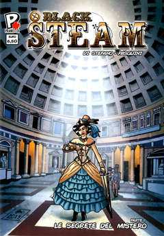 Copertina BLACK STEAM n.1 - BLACK STEAM, PRANKSTER