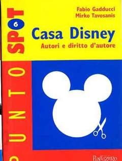 Copertina CASA DISNEY AUTORI E DIRITTO D n. - CASA DISNEY AUTORI E DIRITTO D, PUNTO ZERO EDITRICE