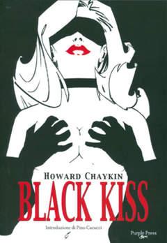 Copertina BLACK KISS n. - BLACK KISS, PURPLE PRESS