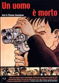 Copertina UOMO E' MORTO n. - UN UOMO E' MORTO, Q PRESS