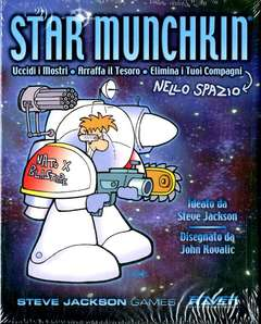 Copertina STAR MUNCHKIN n. - STAR MUNCHKIN, RAVEN DISTRIBUTION