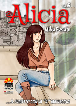 Copertina ALICIA n.6 - ALICIA, REIKA MANGA