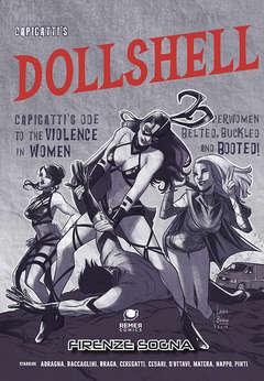 Copertina DOLLSHELL n.1 - FIRENZE SOGNA, REMER COMICS