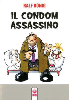 Copertina CONDOM ASSASSINO n. - IL CONDOM ASSASSINO, RENBOOKS