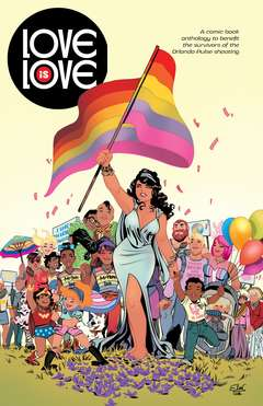 Copertina LOVE IS LOVE n. - LOVE IS LOVE, RENBOOKS