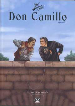 Copertina DON CAMILLO n.4 - SCIOPERO GENERALE, RENOIR