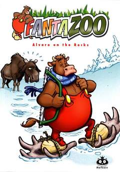 Copertina FANTAZOO n.5 - ALVARO ON THE ROCKS, RENOIR