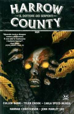 Copertina HARROW COUNTY n.3 - SNAKE DOCTOR, RENOIR